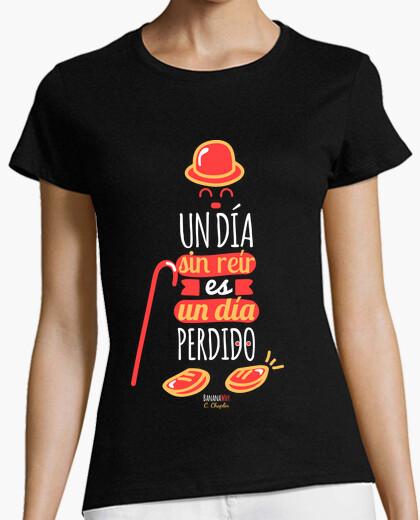 Camiseta Un día sin reír