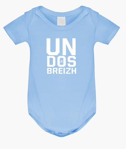 Vêtements enfant Un dos Breizh