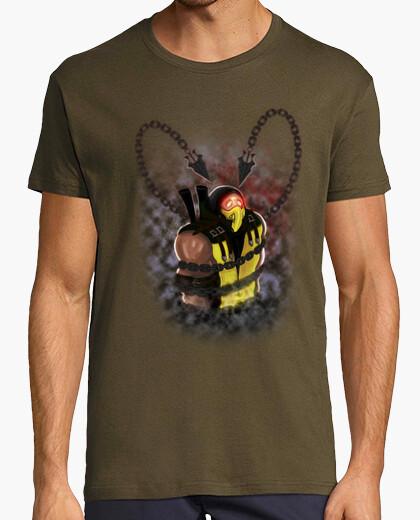 Tee-shirt un gâchis à portée de main