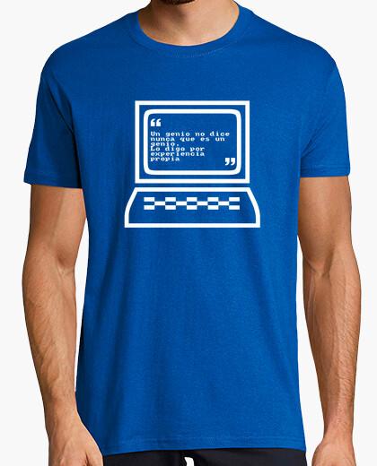 Camiseta Un genio no lo dice