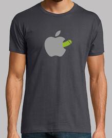 Un gusano en la manzana