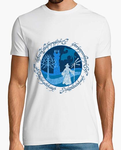 T-shirt un viaggio mans saggio