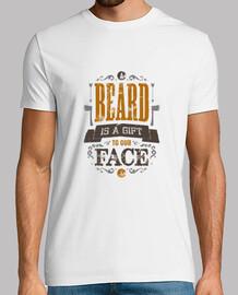una beard è un dono per la nostra maglia viso uomo
