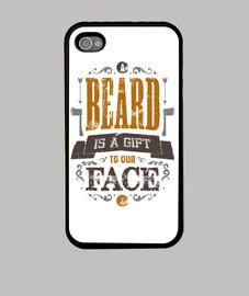 una beard è un regalo per il nostro iphone 4 viso