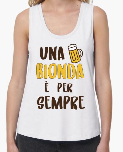 T-shirt Una Bionda è Per Sempre