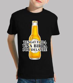una birra per anteriore