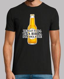 una birra per fronte