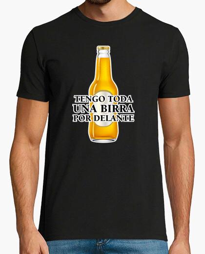 Camiseta Una birra por delante