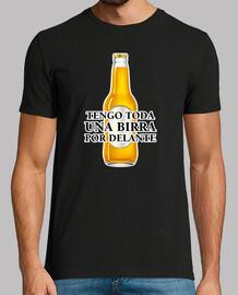 Una birra por delante