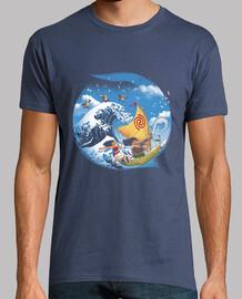 una camicia da uomo viaggio tropicale