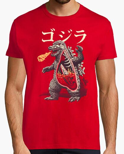 Camiseta una camisa de anatomía kaijus para hombre