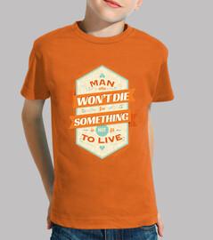 Una camisa de hombre niño