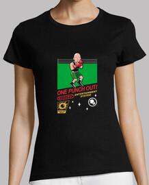 una camiseta de ponche para mujer