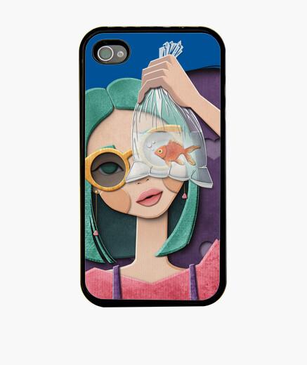 Cover iPhone una chic a un pesce e il...