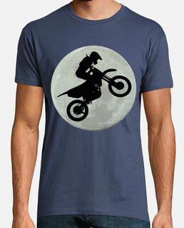 una e una moto cross