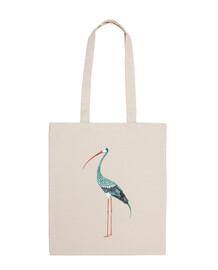 una esotico stork (fondo)