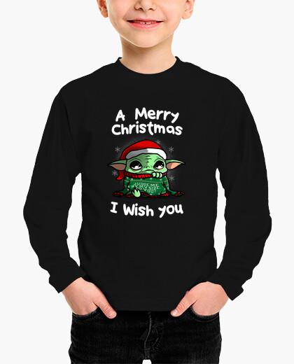 Ropa infantil una feliz navidad te deseo
