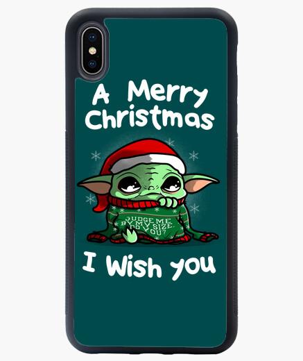 Funda iPhone XS Max una feliz navidad te deseo