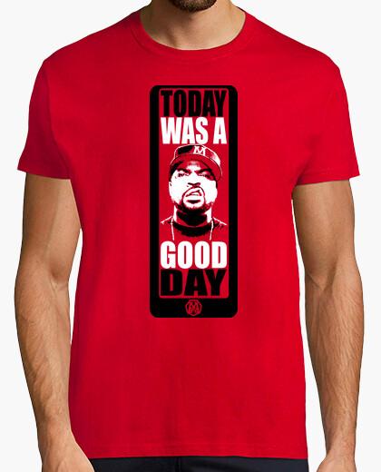 T-shirt una good day di rete