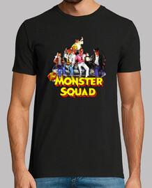 Una Pandilla Alucinante | Monster Squade, manga corta, negra, calidad extra