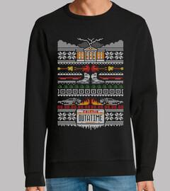 una puntada en el tiempo / de vuelta al futuro / suéter