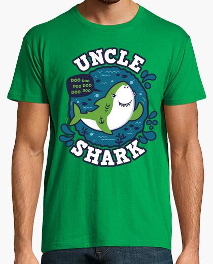 Camiseta Uncle Shark trazo