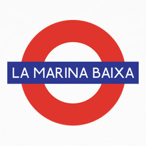 Camisetas Underground Marina Baixa
