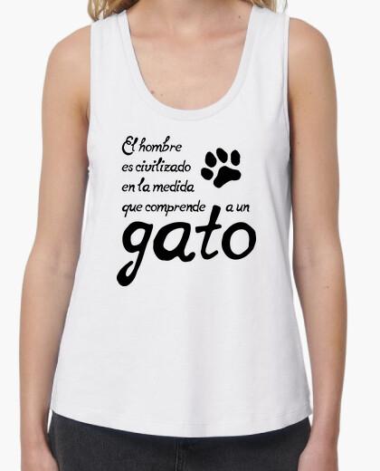 Understand a cat t-shirt
