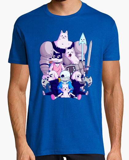 Undertale dogs t-shirt