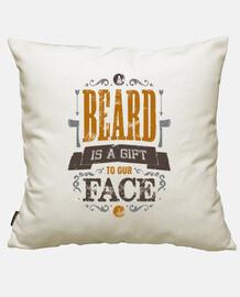 une barbe est un cadeau pour notre visage