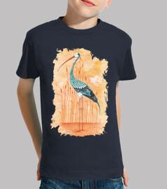 une cigogne exotique