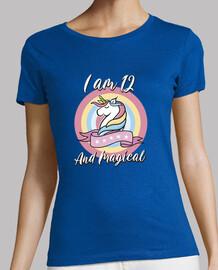 Unicorn Birthday Gift Idea 12 años