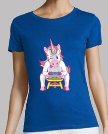 unicorn gamer t-shirt