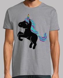 unicorn horn rainbow estr her s black