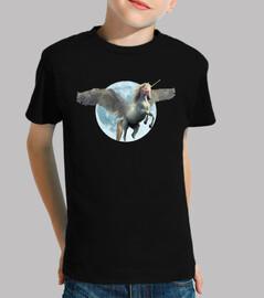 unicorn moon winged pegasus