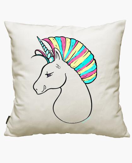 Funda cojín Unicornio.