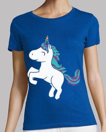 Unicornio Cuerno Arcoiris Estrellas Bla