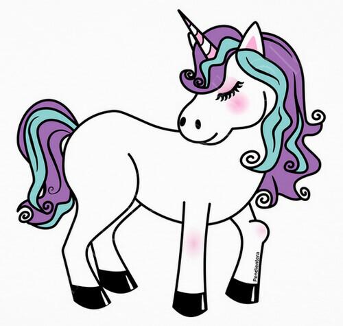 T shirt unicorno kawaii 998902 for Immagini disegni kawaii