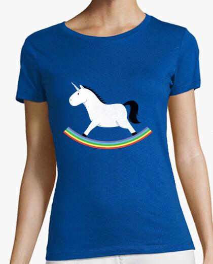 Camiseta unicornio mecedora