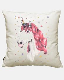 Unicornio pelirrosa