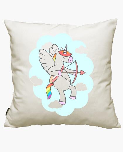 Funda cojín Unicornio San Valentín