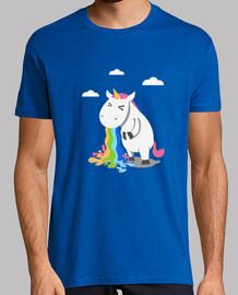 unicorno barfing