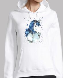 unicorno blu