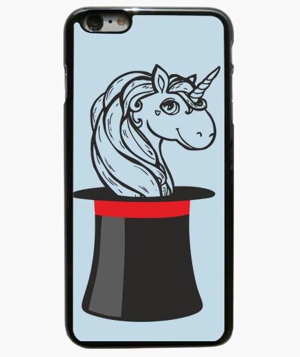 Funda iPhone 6 Plus / 6S Plus unicorno_cover iphone 6 más, negro