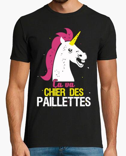 T-shirt unicorno farà un po 'di glitter