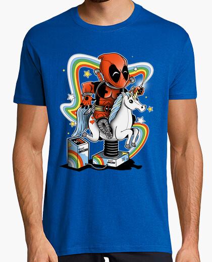 T-shirt unicorno felice