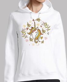 unicorno floreale