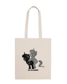 unicorns exist - bag