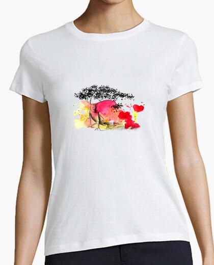 Camiseta Unido a la tierra {girl}{white}