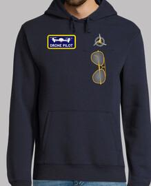 uniforme de piloto de drones